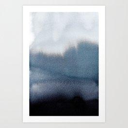In Blue Art Print