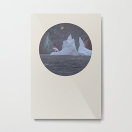 The Lonely Polarcorn Metal Print