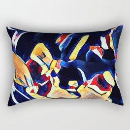 Hot Lava ~ Muscale Rectangular Pillow