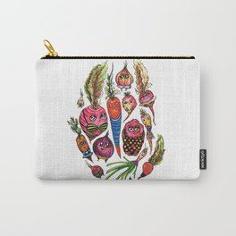 Roots in Suits Carry-All Pouch