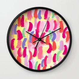 Abstract Pattern Modern - ALWAYS SING BANANA no.0 Wall Clock