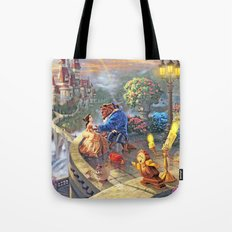 The Beauty and The Beast - All  Tote Bag