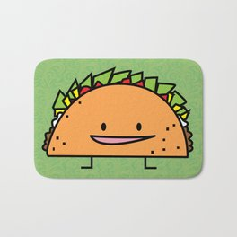 Happy Taco Bath Mat