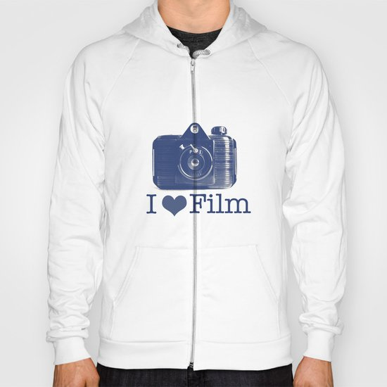 I ♥ Film (Blue/Peach) Hoody
