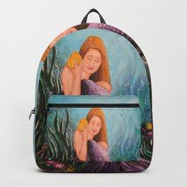 Mermaid Under The Sea Backpack