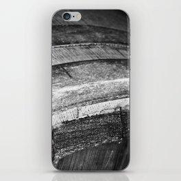 Barrels In Black & White iPhone Skin
