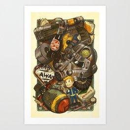 Wasteland Cache Art Print