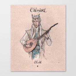 Falmari - Olwe Canvas Print