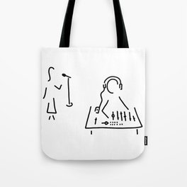 sound engineer studio admission mixing writing desk Tote Bag