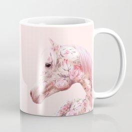 FLORAL HORSE Coffee Mug