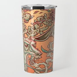 Deer Smoke & Indian Paintbrush Travel Mug