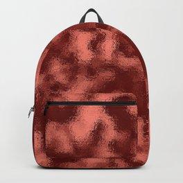 Dark Mottled Copper Rose Foil Backpack