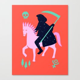 Apocalypse Horseman of Death Canvas Print