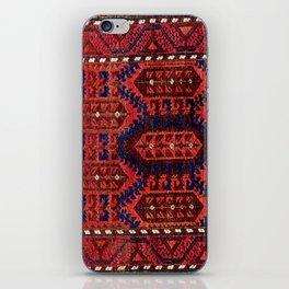 Baluch  Antique  Khorasan Persian Rug iPhone Skin