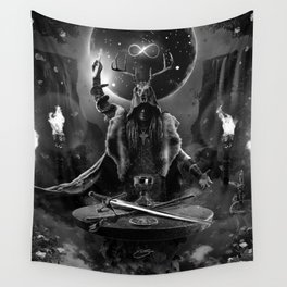 I. The Magician Tarot Card Illustration Wall Tapestry