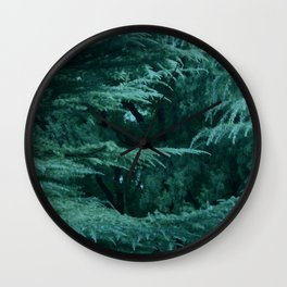 Forest by Lika Ramati Wall Clock