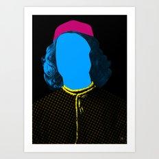 Pop Portrait Disaster 3 Art Print