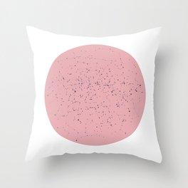 Star Map Rose Throw Pillow