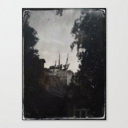 Hidden Pirate Ship by Topher Adam 2017 Canvas Print