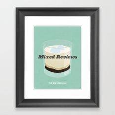 Mixed Reviews - The Big Lebowski Framed Art Print