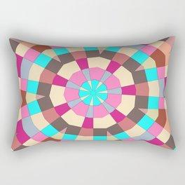 Under a parasol Rectangular Pillow
