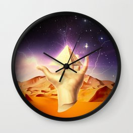Ten Strikes Wall Clock