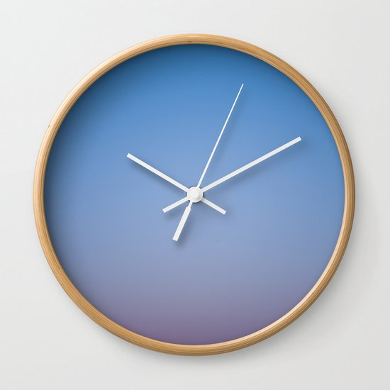 Sunset Gradient 2 Wall Clock