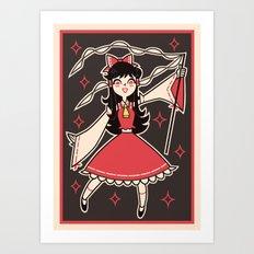 Reimu Hakurei Art Print
