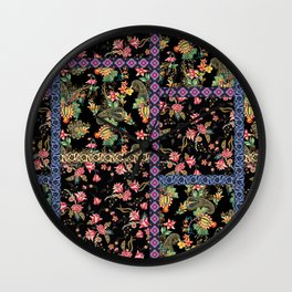 PASTORAL PATCHWORK Wall Clock