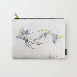 Litte Royals Series - King Whale  Carry-All Pouch