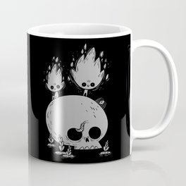 Fuegos Fatuos (grey) Coffee Mug