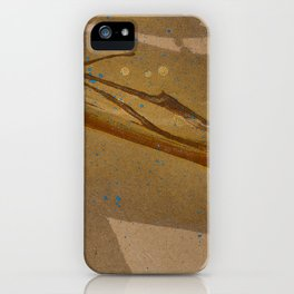 joelarmstrong_rust&gold_073 iPhone Case