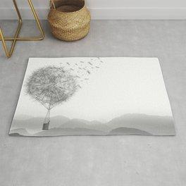Dandelion Sketch Rug