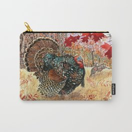 Woodland Turkey Carry-All Pouch