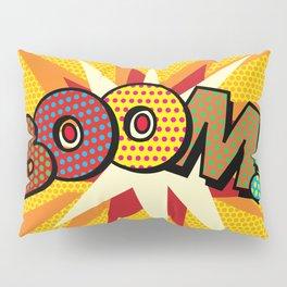 Comic Book Pop Art Spots BOOM! Pillow Sham