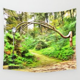 Mysterious Forest, Sintra (Portugal) Wall Tapestry