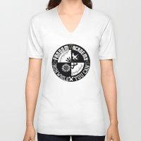 fandom V-neck T-shirts featuring Ultimate Fandom Academy by Thg Fashion