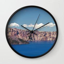 Crater Lake, Mount Mazama, Oregon, Northwest Mountain Wall Clock