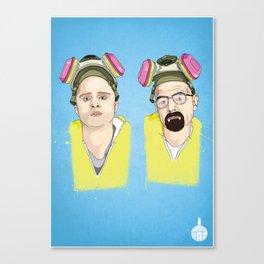 Breaking Bad - Jess & Walt Canvas Print