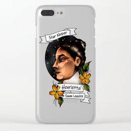 Henrietta Swan Leavitt Clear iPhone Case
