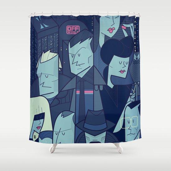 Blade Runner Shower Curtain