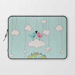 Home is wherever I am with you! Laptop Sleeve