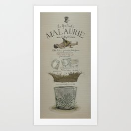 La Gran Noche/The great night of Pablo Malaurie Art Print