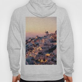 Sunset over the Village (Color) Hoody