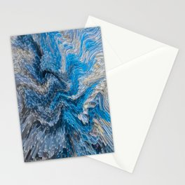 Digital abstract Stationery Cards