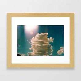 Desert Clouds  Framed Art Print