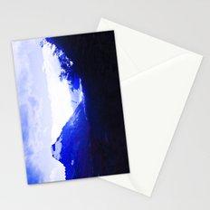 Dark blue. Stationery Cards