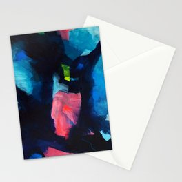 Adrift abstract Stationery Cards