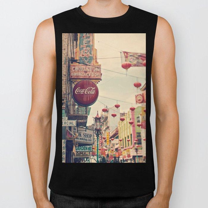 Chinatown (San Francisco) Biker Tank