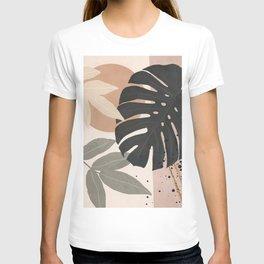 Abstract Tropical Art X T-shirt
